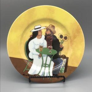 GBC Van Gogh Amoureux Fine Porcelain Plate